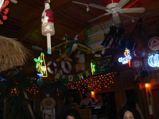 Ceiling photo of the restaurant
