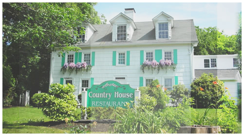 exterior of the country house restaurant building