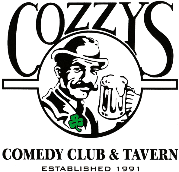 Cozzy's Comedy Club and Tavern. established 1991.