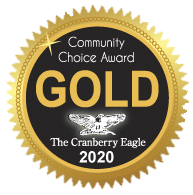 Community Choice Award Gold Cranberry Eagle 2020