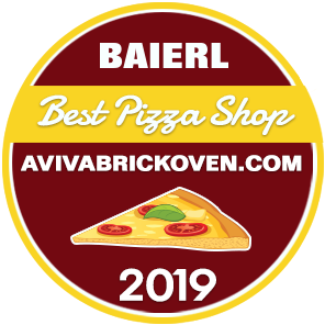 Best Pizza Shop 2019 Badge