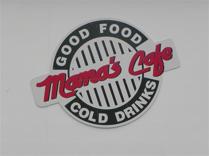 mamas cafe, good food, cold drinks