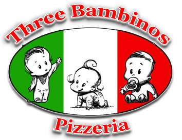 Three bambinos pizzeria.