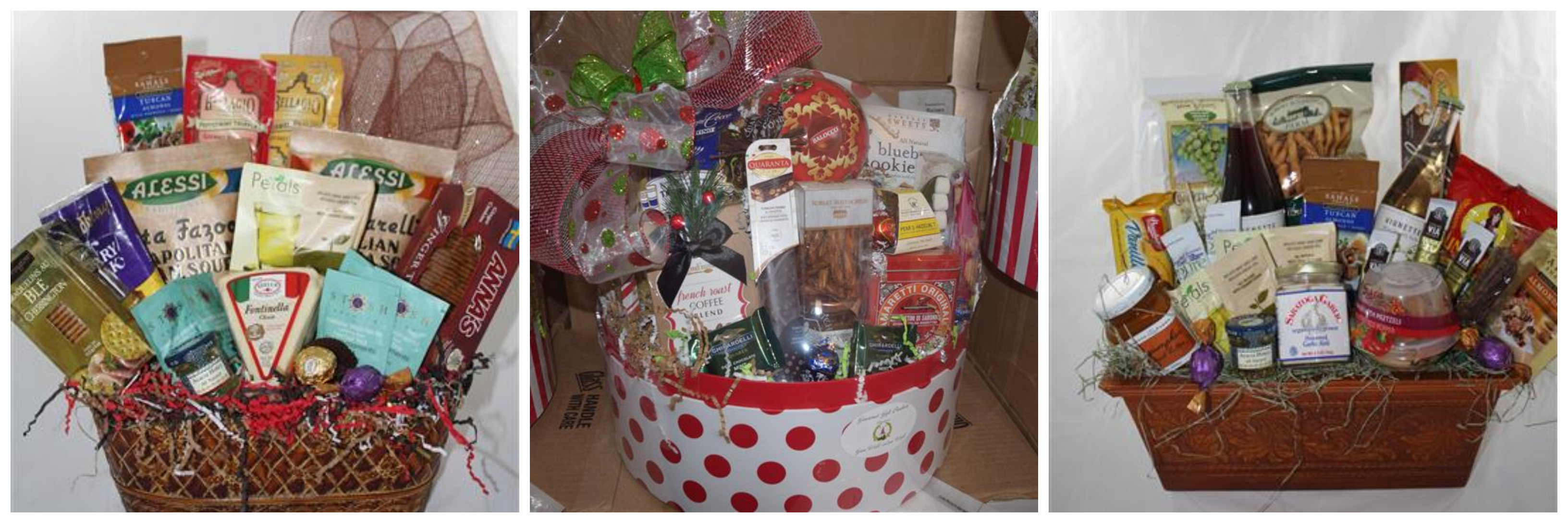 click for holiday baskets