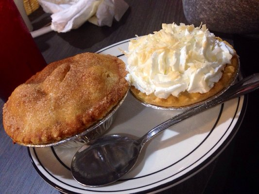 two small pies