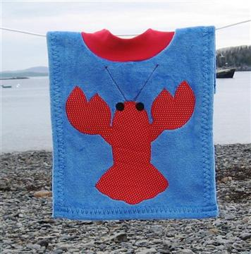 Name: Blue lobster bib