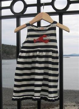 Striped lobster dress 060513