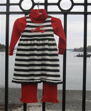 Name: Striped lobster dress altern view 060513