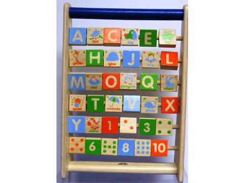 Spinning Alphabet & Numbers