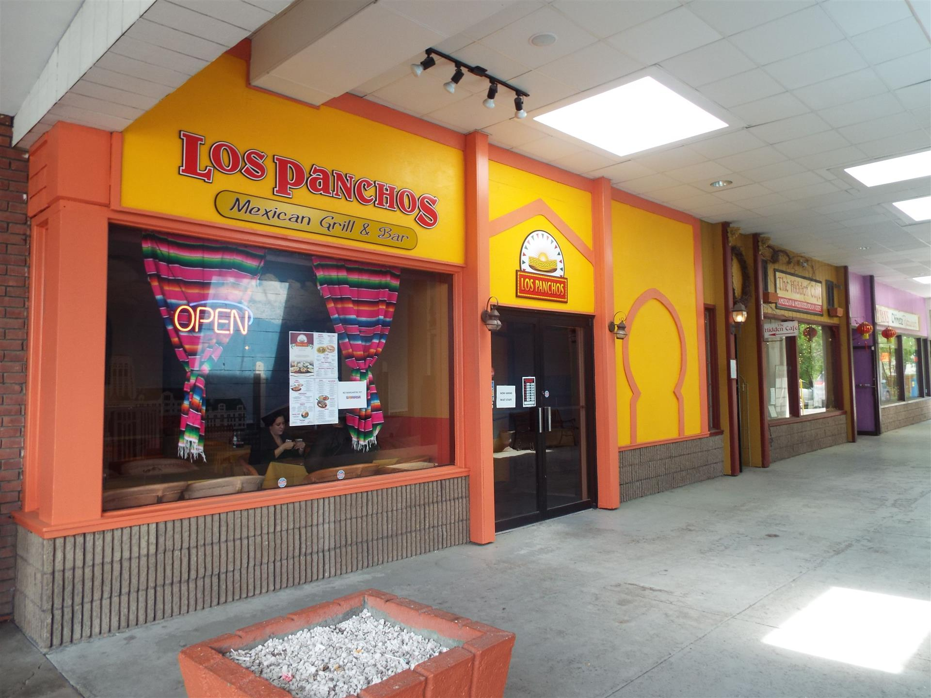 Outside of Building. Los Panchos Mexican Grill and Bar