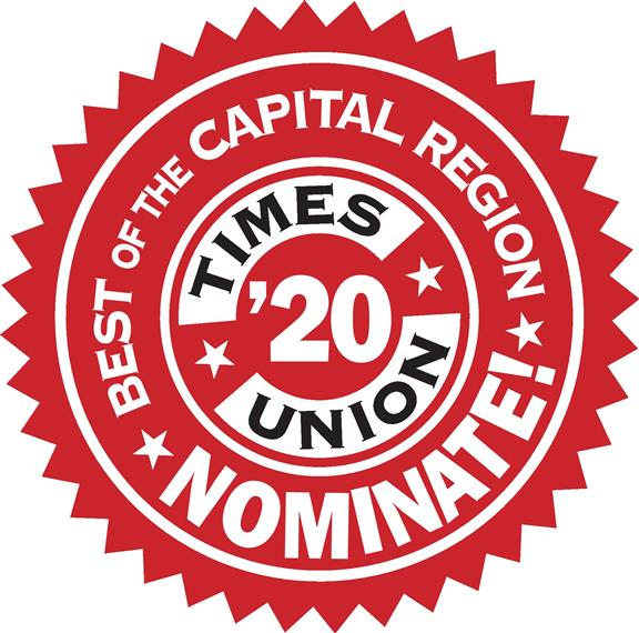 Best of the Capital Region Times Union '20 Nominate!