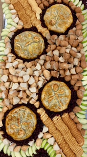 assorted breads for catering