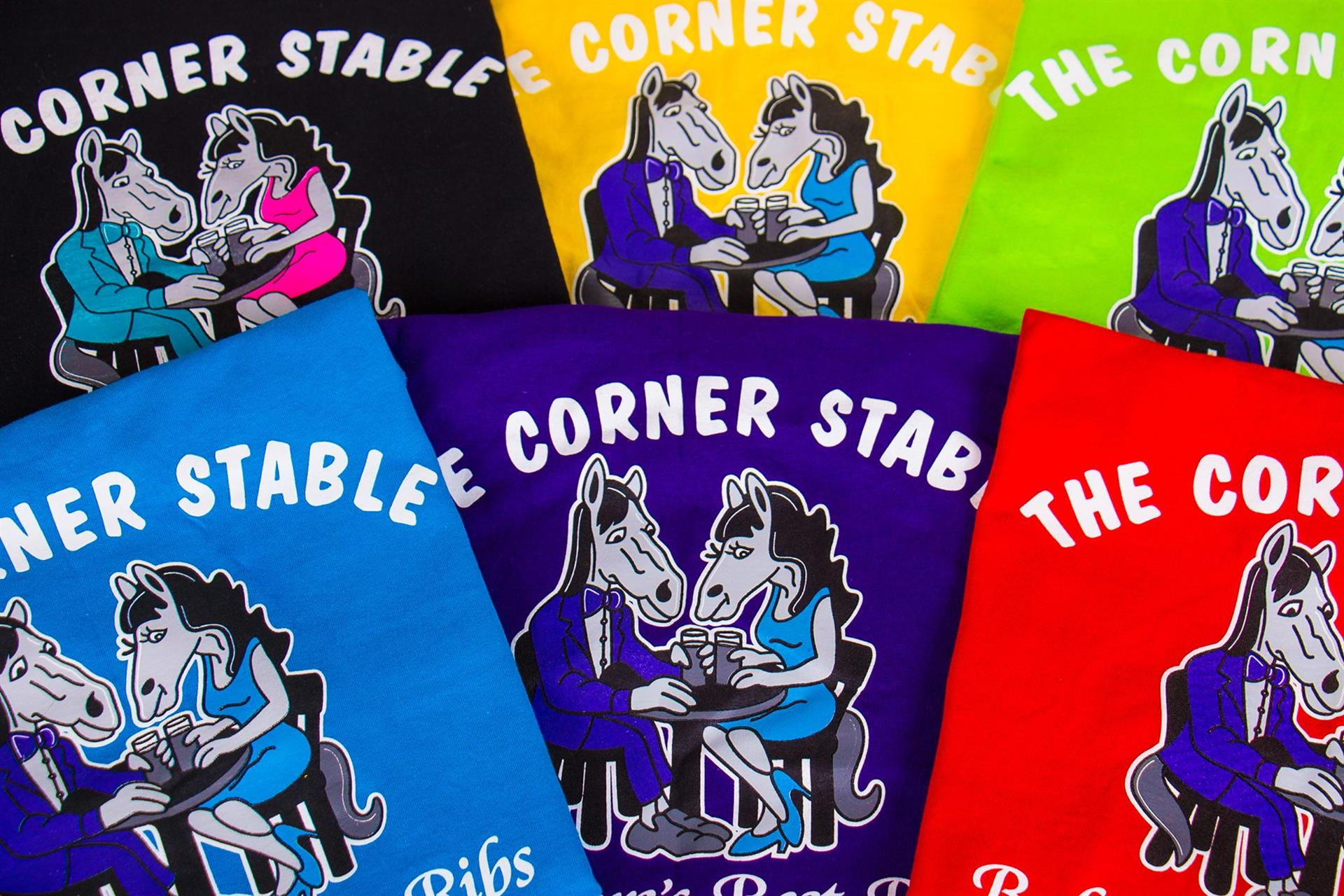 Assortment of Corner Stable T Shirt's