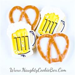 Beer and Pretzel Cookie Set