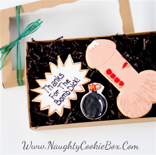 Bomb Dick Boxed Cookie Set