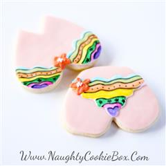 fiesta bra and panty cookies