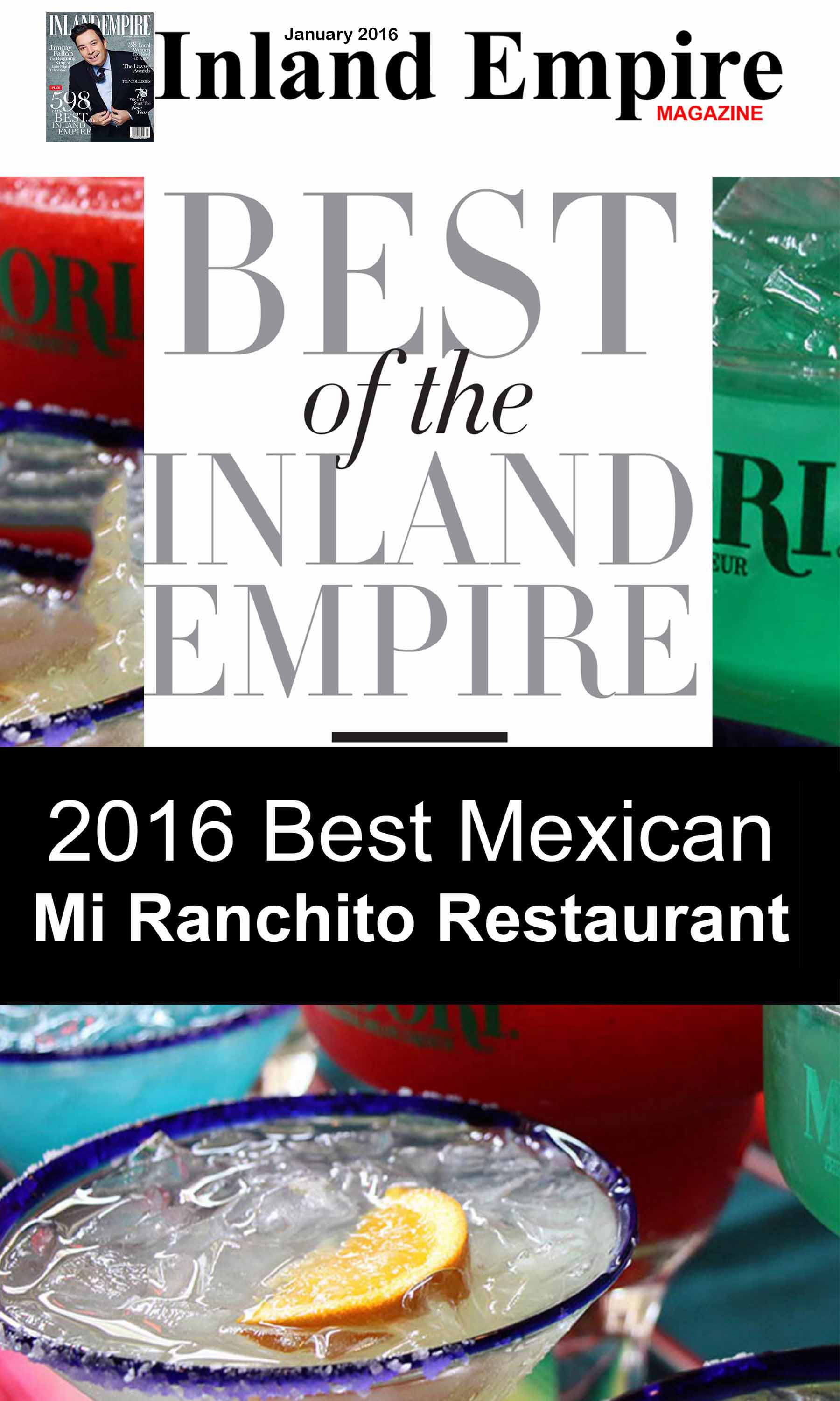2016 Best of the Inland Empire : Mi Ranchito
