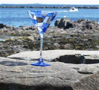 Indigo Blues Martini