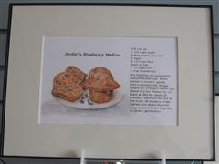 Original Recipe Paintings Muffin