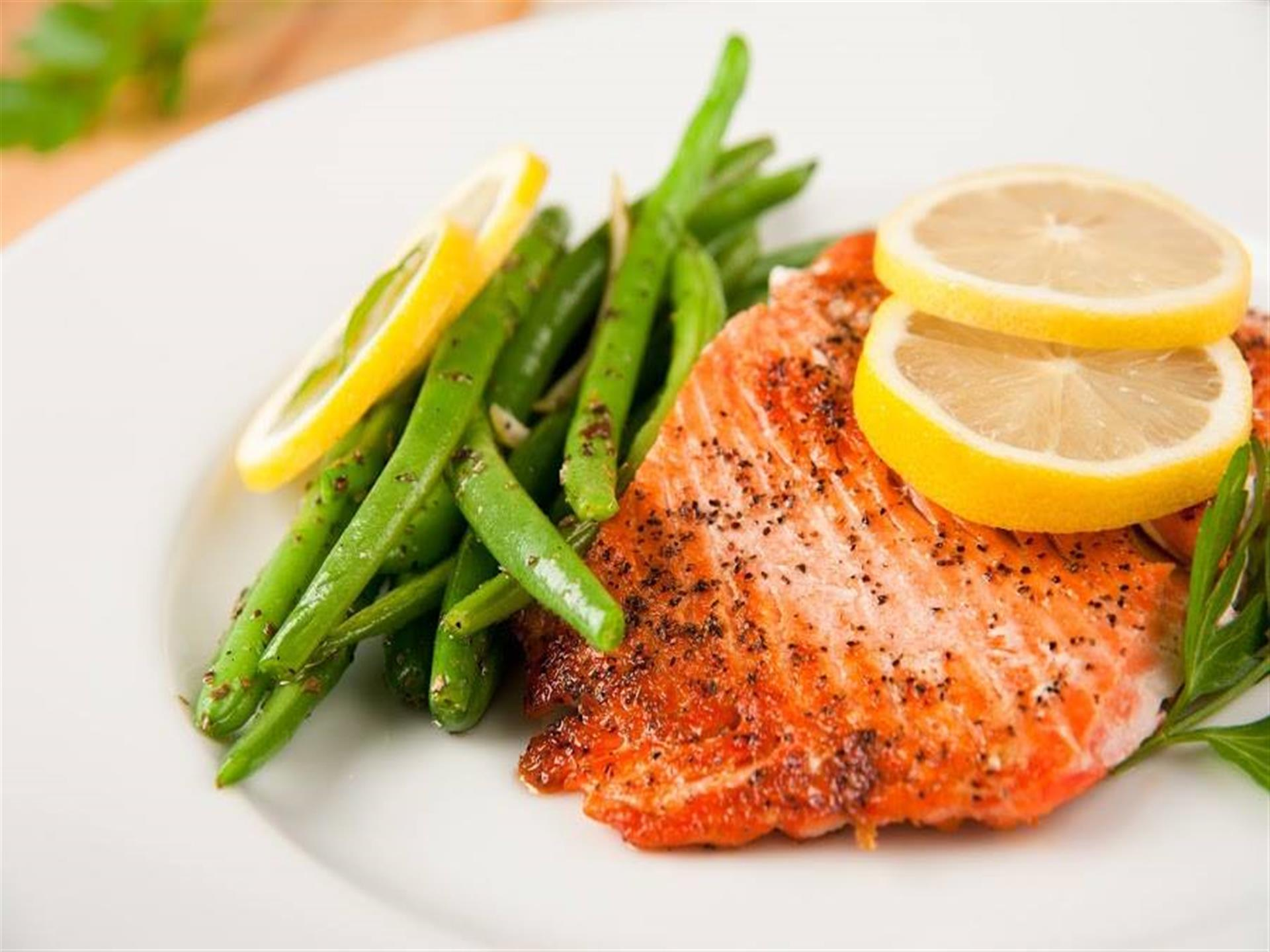 Salmon with Veggies