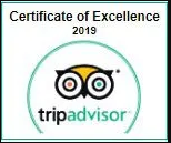 certificate of excellence 2019 trip advisor
