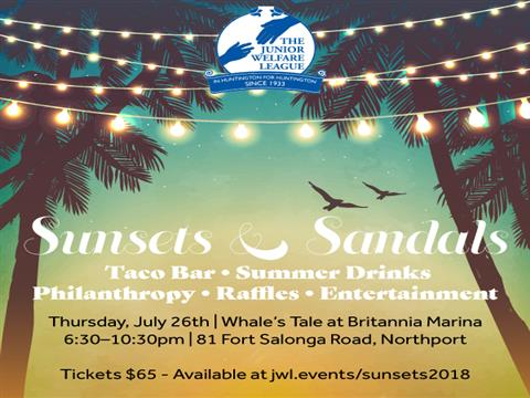 Sunsets & Sandals 2018 Tickets