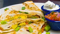 Garden Fresh Quesadillas
