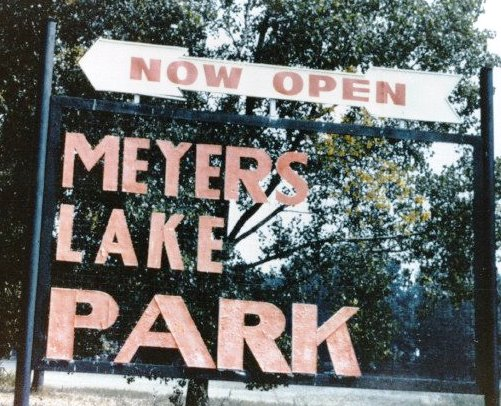 Mayers Lake Park Sign