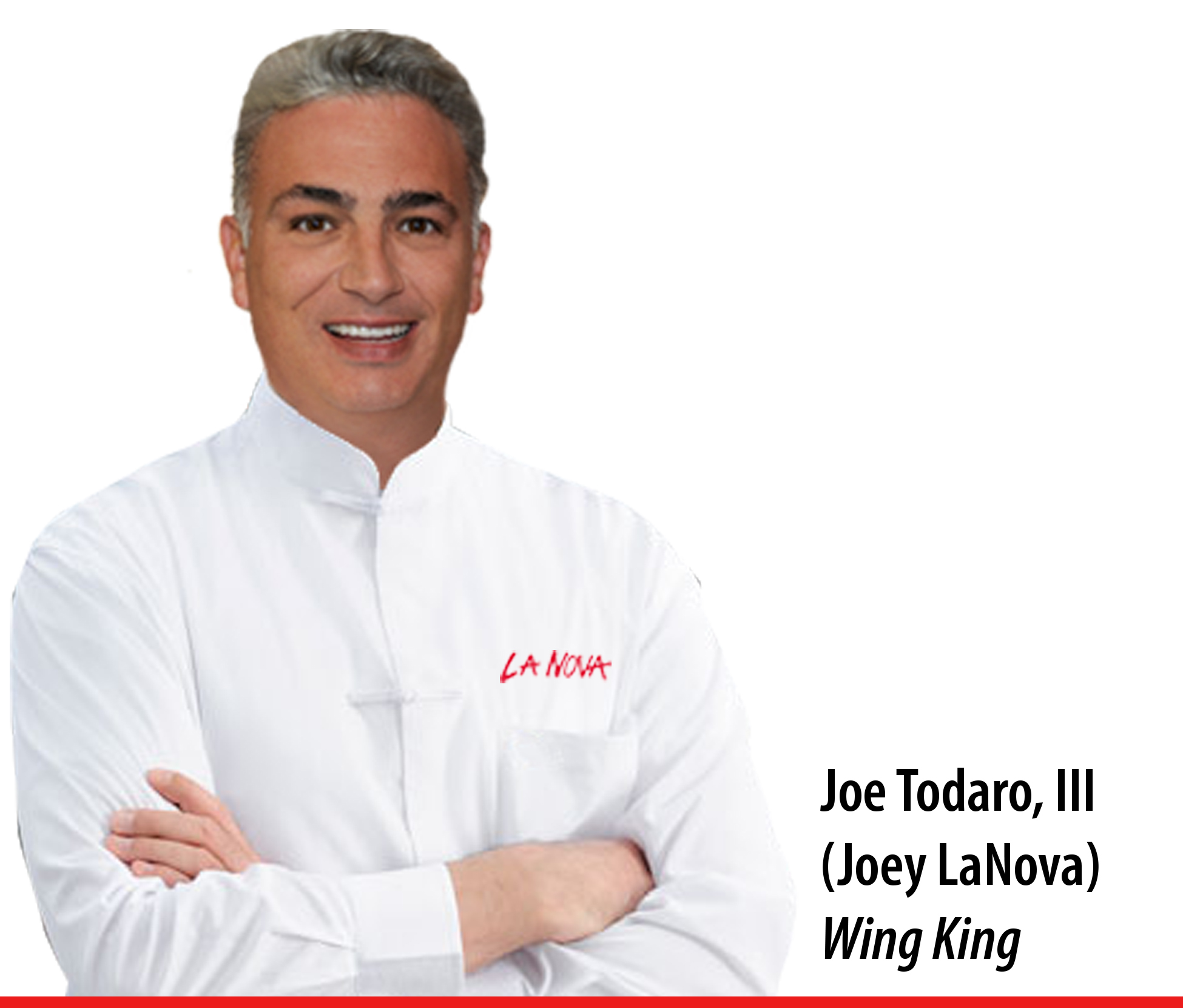 Joe Todaro the third. Joey La Nova, wing king
