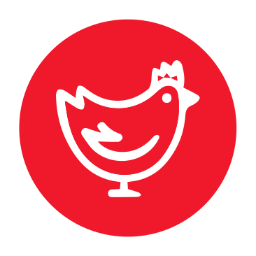 Cartoon Chicken Icon