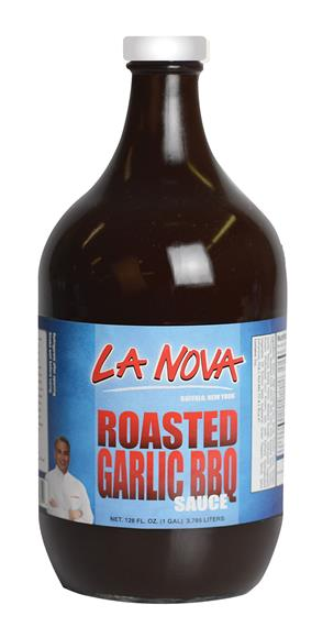 La Nova Roasted Garlic BBQ Sauce