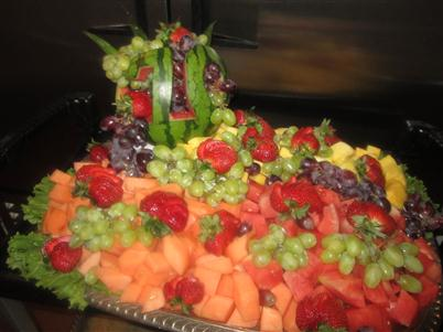 tray with various fruit
