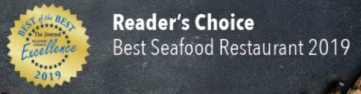 Readers choice, best seafood restaurant 2019