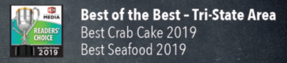 Best of the best - tri state area, best crabcake 2019, best seafood 2019