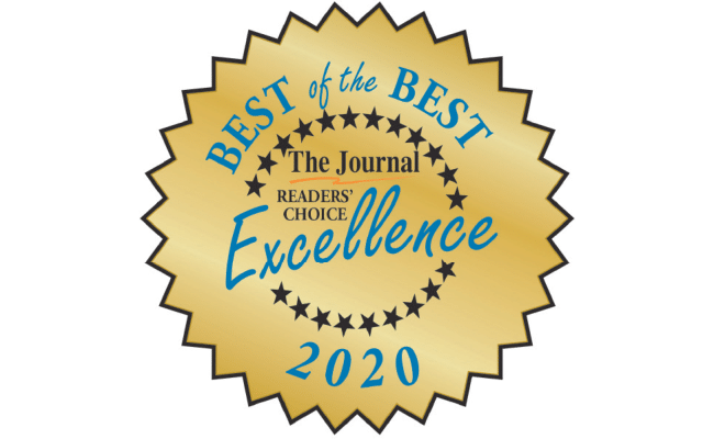 Best of the Best. The Journal Readers' Choice Excellence 2020.