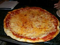 Prima - plain cheese pizza