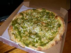 Prima - Roasted Garlic with Pesto pizza