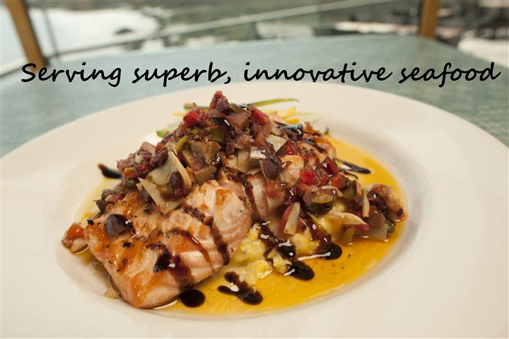serving surperb, innovative seafood