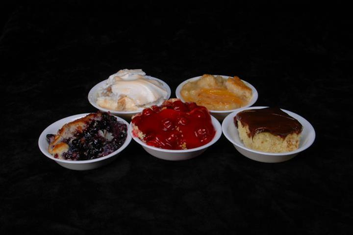 various desserts in bowls