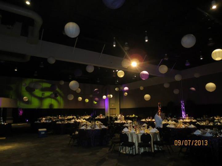 event in a large room