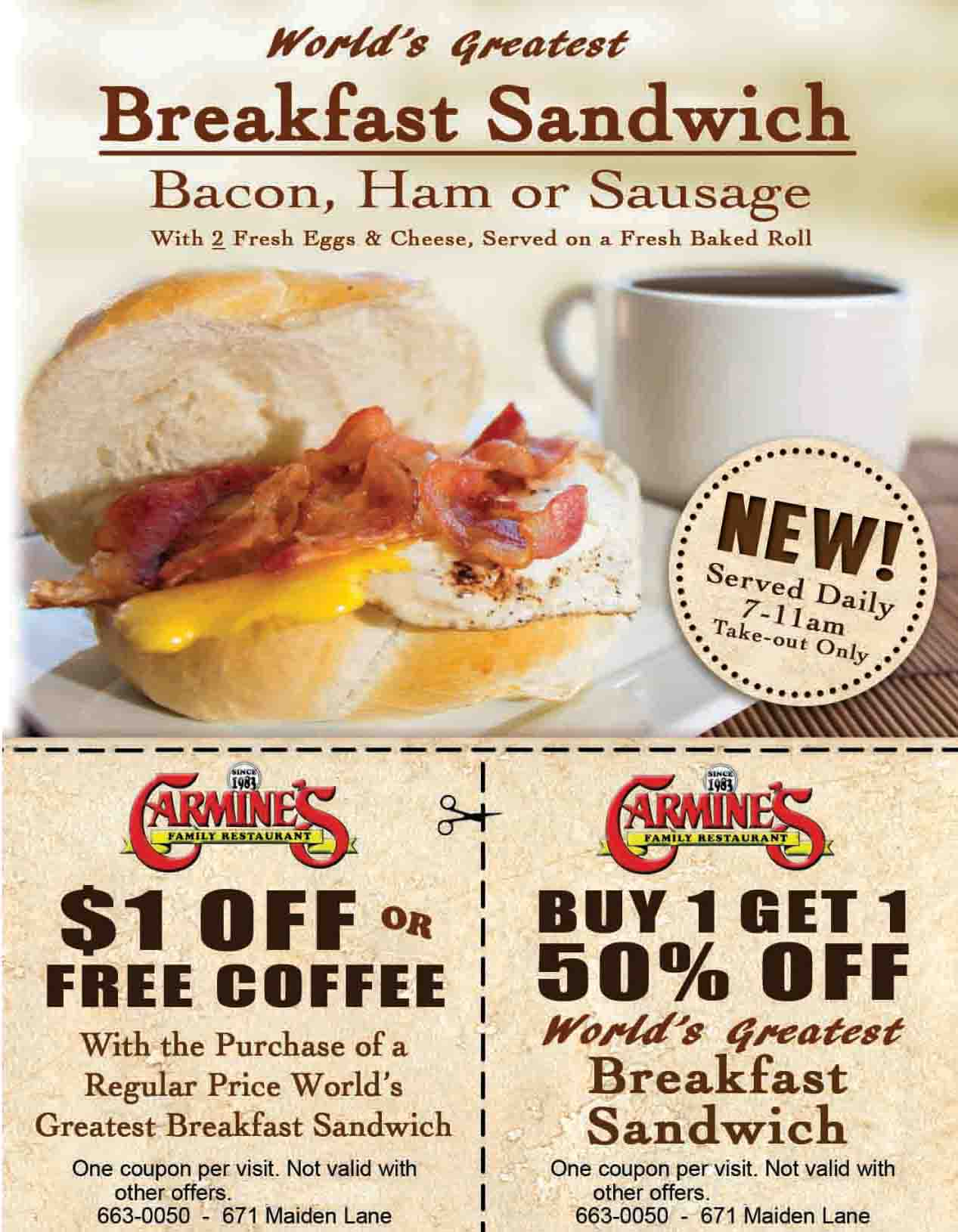 ---- breakfast sandwhich special (large)
