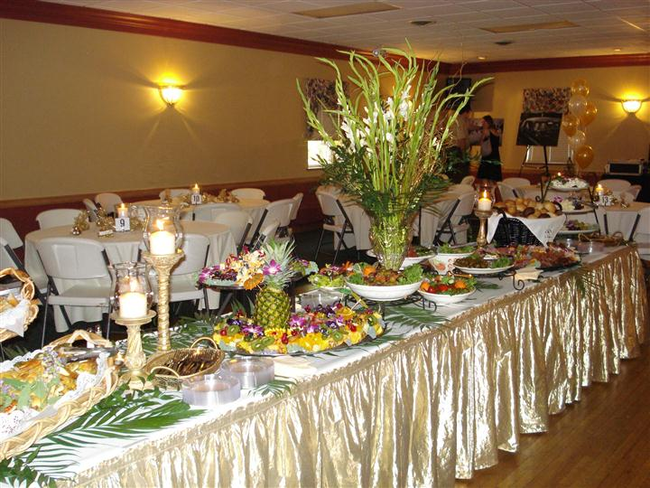 A nice table setting with flowers as a centerpiece