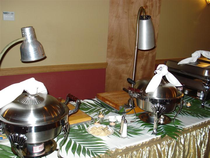 A food warming station