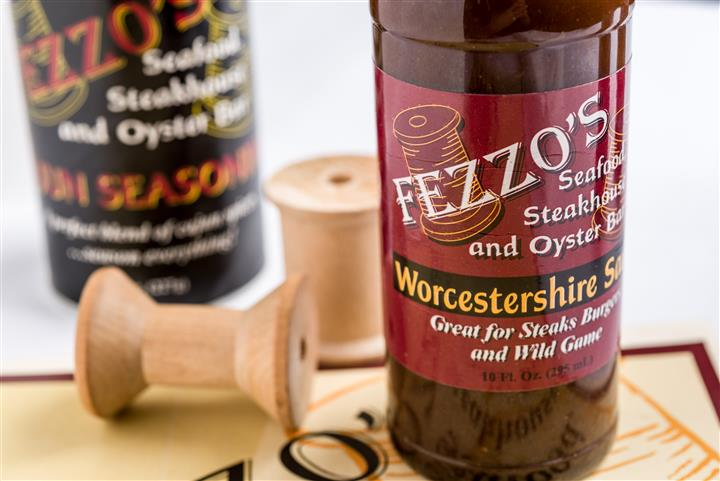 bottle of Fezzo's worcestershire  sauce