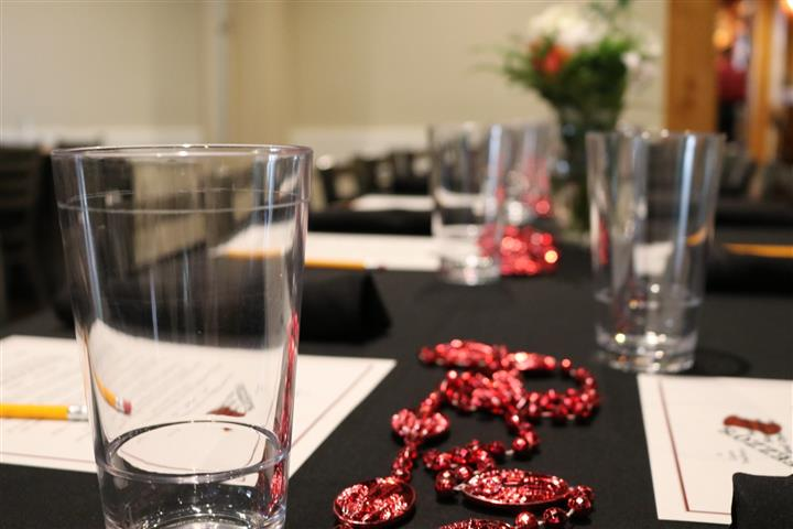 table setting for banquet