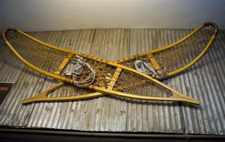 Snow Shoes decoration
