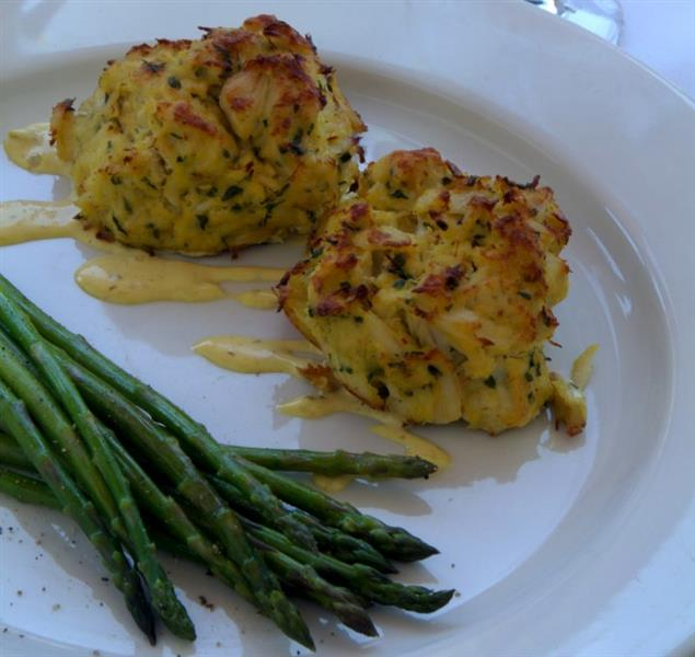 asparagus with Chef Specialty mash