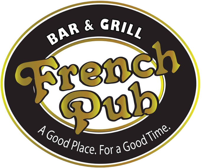 French Pub bar and grill. A good place for a good time