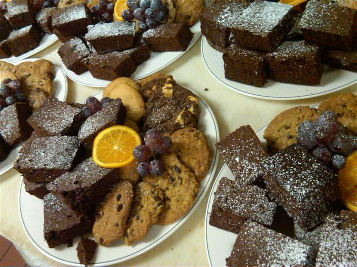 cookies and brownies
