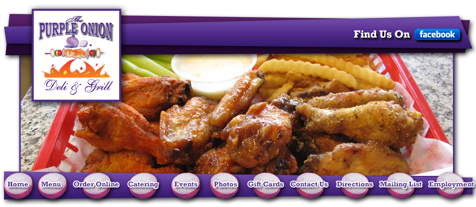 The Purple Onion Online Hoover Alabama 35216 | CALL 205-822-7322
